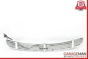00-06 Mercedes W215 CL500 Front Hood Vent Grille Grill Trim Panel White OEM