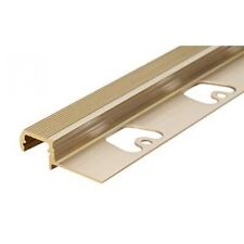 LEDsikon® LED Profil OUTSTAIRS12-1100, 1.1m, Messing LK#522242