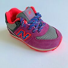 AUTHENTIC NEW BALANCE 574 BABY KIDS TODDLER GIRLS PURPLE PINK BLUE GRAY SNEAKERS