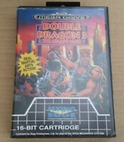 "JEU SEGA MEGA DRIVE "" DOUBLE DRAGON 3 THE ARCADE GAME "" PAL  EN BOITE !"