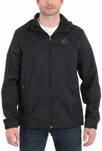 Gerry Men's Lightweight Hooded Water Resistant Jacket