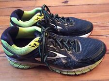 Brooks Adrenaline GTS 16 Men's Running Shoes - Black/Yellow/Red - Sz 8