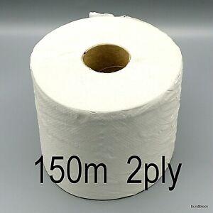 Big Paper Roll 2Ply 150m x175mm Towel Cleaning glass wipes rag garage window car