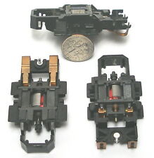 1 TYCO 1997 440-X2 Slot Car WIDE PAN Long Drop Pickup Shoe Chassis JustAddWheels