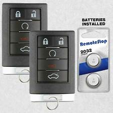 Key Fob Keyless Entry Remote Shell Case /& Pad fits Cadillac CTS STS 2008 2009 2010 2011 2012 2013 OUC6000066 USARemote