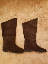 Jack Spray Brown Size 7 Suede Boots