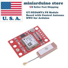 GYNEO6MV2 GPS Module NEO-6M GY-NEO6MV2 Board with Antenna for Arduino MWC APM2.5