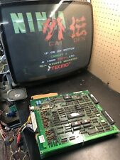 Ninja Gaiden Tecmo Arcade PCB KAMMA Tested Works 100%