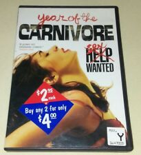Year of the Carnivore (DVD, 2011) sex unrated oop  FREE SHIPPING Family Video