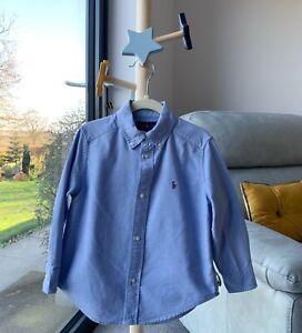 Ralph Lauren Blue Denim Shirt Age 3 Years
