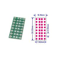 5pcs SMD/SMT Components 0805 0603 0402 to DIP Adapter PCB Board Converter UK