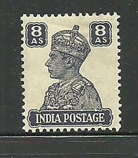 Album Treasures India Scott # 178  8a George VI Mint Hinged