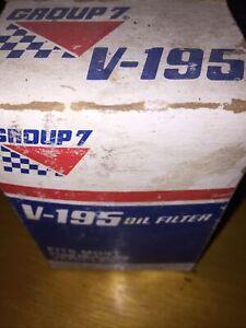 Engine Oil Filter Group 7 V195 PACK OF 1