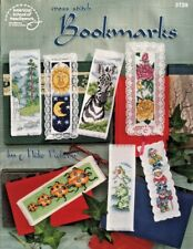 Bookmarks Counted Cross Stitch Charts Mike Vickery Frogs Tiger Animals ASN #3729