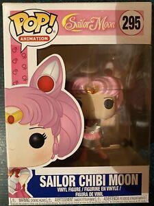 Sailor chibi moon GLITTER sailor moon #295 Funko pop! vinyl RARE VAULTED