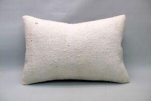 """Hemp Lumbar Pillow, 16""""x24"""", Ethnic Decorative Pillow, Handmade Vintage Pillow"""