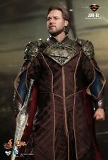 "HOTTOYS FROM THE MAN OF STEEL RUSSELL CROWE AS JOR-EL 12"" INCH FIGURE"