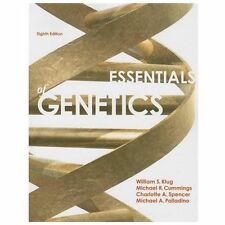 Essentials of Genetics by William S. Klug, Charlotte A. Spencer, Michael A....