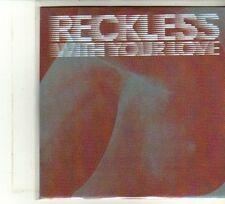 (DU397) Azari & III, Reckless (With Your Love) - DJ CD