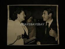 Candid Bette Davis Gary Merrill VINTAGE PHOTO 325H