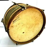 Antique Marching Snare Drum