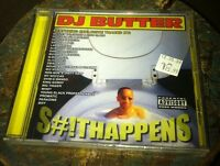 Dj butter s#!thappens cd Sealed New EMINEM
