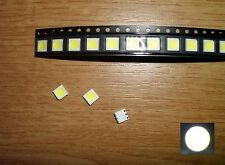 45 Stück LED SMD 5050 WEIß (1,6mm Höhe)