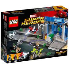 Lego 76082 Super Heroes Spiderman ATM Heist Battle Brand New in Sealed Box