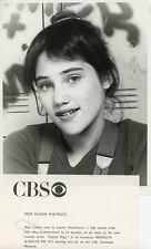 AMY LINKER SMILING PORTRAIT SQUARE PEGS ORIGINAL 1982 CBS TV PHOTO
