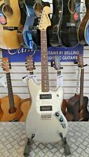 Fender Offset Series Mustang P90 in Silver, Made in Mexico, 2016