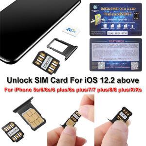 HEICARD UNLOCK Chip for iPhone X XS 8 7 + Unlocking Sim Card ICCID IOS 13.2.3-SL