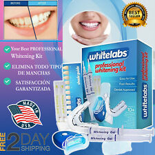 Blanqueador De Dientes Laser KIT PROFESIONAL Gel  Dientes Blanqueamiento Dental+