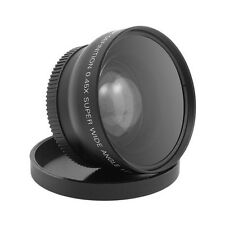58mm 0.45x Wide Angle and Macro Lens for Canon EOS 350D/400D/450D/500D/600D
