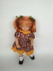 Sylvia Natterer Doll by Gotz Long Red Hair