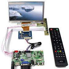 "HDMI VGA AV Audio USB  LCD Controller Board 7"" AT070TN90 800x480 LCD Screen"