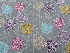 Harlequin Fabric 'ORSINA' 4 METRES (400cm) Haze/Violet/Turquoise/Rose/Taupe