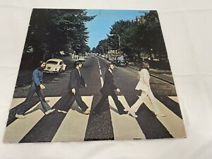 Beatles Abbey Road Japanese Red Vinyl Album Record LPVG+