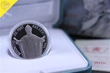 Vatikan 5 Euro 96. Welttag der Migranten Silber PP 2010