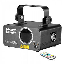 KAM iLink 500RGB Multi-Colour 300mW Laser Lighting Effect