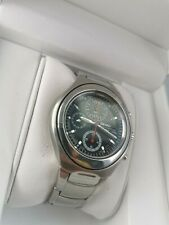 SEIKO 7T92 CHRONOGRAPH - 2005 MODEL - GOOD CONDITION - BOX AND PAPERS - NEW BATT