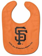 San Fransisco Giants Little Fan Baby Feeding Bib Mlb Infant Toddler Newborn