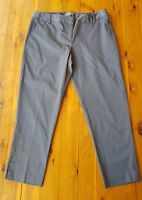 SUSSAN Grey Sateen Stretch Pants Size 14