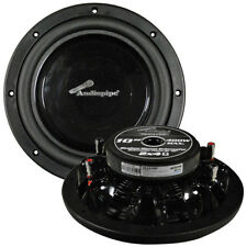 """NEW Audiopipe 10"""" Shallow Mount Woofer 400W Max 4 Ohm DVC TSFA100"""