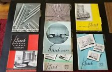 Vintage Collection of Kirsch Drapery-Hardware Catalogs from the 1930's and 40's