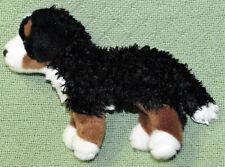 "DOUGLAS TOYS 8"" BERNESE MOUNTAIN DOG STUFFED ANIMAL PLUSH PUPPY BLACK TAN WHITE"