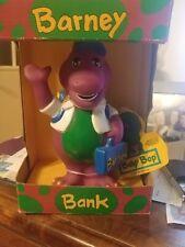 1992 BARNEY BANK NEW IN BOX  SHIPS FREE