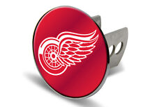 Detroit Red Wings Chrome Laser Cut Hitch Cover Free Shipping NHL