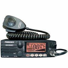 President McKinley 40 Channel plus 80 SSB l CB Radio AM/SSB/PA 12/24V Weather