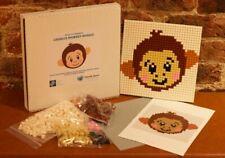 New Cheeky Monkey LEGO® Bricks Mosaic, unique LEGO, animal LEGO