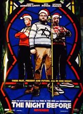 Seth Rogen THE NIGHT BEFORE Authentic 27x40 D/S Movie Poster.